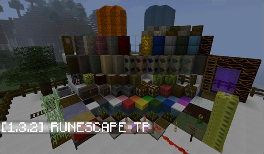 pacote de textura minecraft 1.3.2